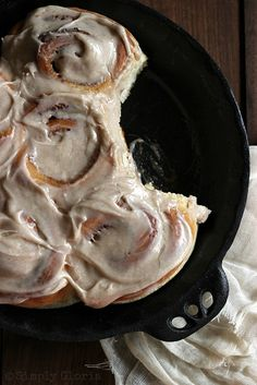 Quick & Easy Cinnamon Rolls - from @Jackie Gregory Gloria - SimplyGloria.com