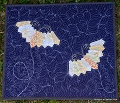 Elven Garden Quilts: Free Motion Quilting Advice - Renee from Quilts of a Feather