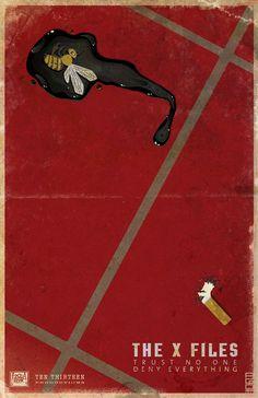 """""""Minimalist: The X-Files B"""" by alexmax via deviantart"""