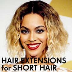 All you need to know about hair extensions for short hair http://dirtylooks.com/blog/hair-extensions-for-short-hair-2