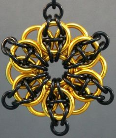 color combos, star pendant, chainmaill celtic, chain maill, 11diy idea