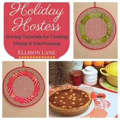 Holiday Hostess tutorial, how to make Thimble Dresden's  and hot pads!!!!