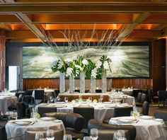 New York's Top Restaurants: Le Bernardin #Travel+Leisure #LeBernardin #Restaurant #NewYork #NYC #CentralParkHotel #PLHotelNY #Food #Dining #EricRipert #Seafood #French