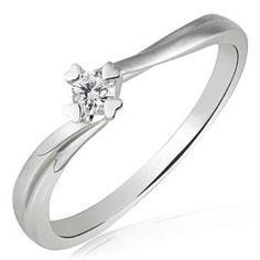 Goldmaid Damen-Ring Herz Stotzen Verlobungsring 585 Weißgold 1 Brillant 0,10 ct. Gr. 54 So R4682WG54 - http://www.wonderfulworldofjewelry.com/jewelry/goldmaid-damenring-herz-stotzen-verlobungsring-585-weigold-1-brillant-010-ct-gr-54-so-r4682wg54-de/ - Your First Choice for Jewelry and Jewellery Accessories