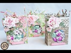 Botanical Tea: Easter Treat Bag Tutorial