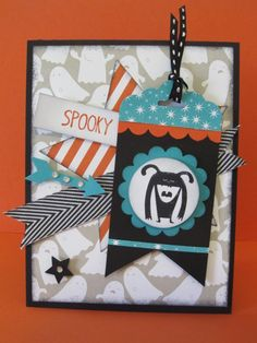 Halloween Tag Card