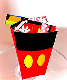 Mickey Mouse Printable Treat Box
