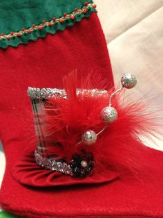 Holiday Mini top hat