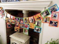 photo banner, pictur banner, 21st birthday, anniversary parties, birthday idea