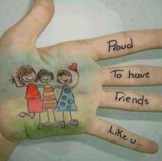 Proud to have friends like you.