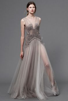 J.Mendel Gown, could be used as an evening gown i think but looks really sexy as a long lingerie piece. color is great