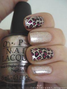 Shimmery Leopard