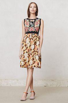 Luz Dress #anthropologie