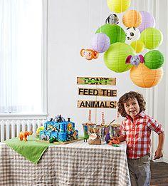 Zoo Birthday Party
