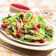Knott's Raspberry Salad berri farm, knott berri, farms, favorit recip, salad dressings, farm raspberri, knott raspberri, raspberri salad, berries