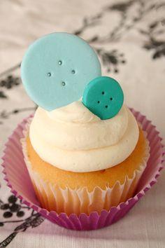 Cupcake Idea. Cute as a button