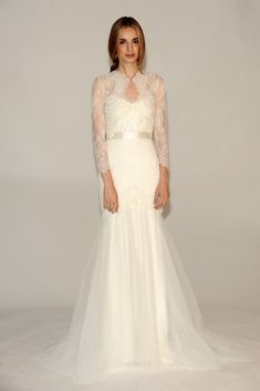 Bridal Trends for Fall 2014: Barely there layers