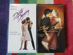 Dirty Dancing VHS and Dirty Dancing by 2sweet4words, $7.50