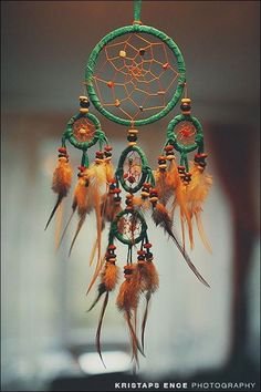 My gma used to make the most amazing dream catchers