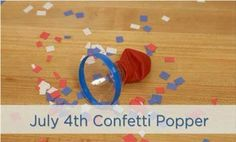 """Launch paper """"fireworks"""" during #FourthofJuly parades and parties--or anywhere confetti is needed! Watch how to craft one."""