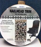 DIY nailhead trim
