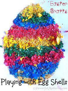 Easter Egg Shell Craft