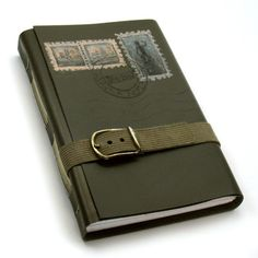 I love journals with belts!