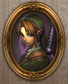 Link Portrait by ~Brolo on deviantART