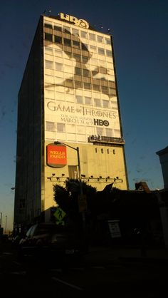 HBO Building on Sunset Boulevard
