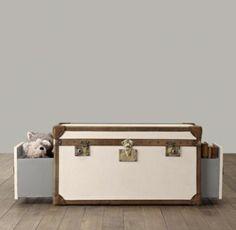 Voyager Steamer Trunk | Benches & Trunks | Restoration Hardware Baby & Child