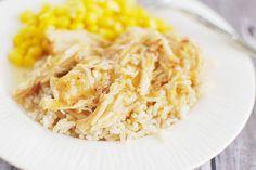 Slow Cooker Garlic and Brown Sugar Chicken.