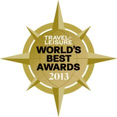 We're so excited about our @Travel + Leisure 2013 World's Best #Award accolade: http://www.travelandleisure.com/worldsbest/2013