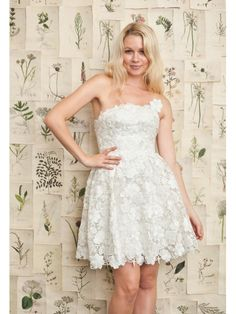 Cute Design Short Lace Wedding Dresses