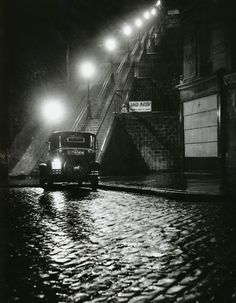 Rue Muller, Paris, by Willy Ronis