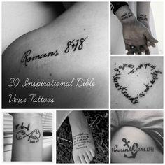 Community Post: 30 Inspirational Bible Verse Tattoos