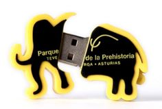 ¿Te gustan los mamuts? Pues... ¡también le hemos convertido en pendrive! - USBModels