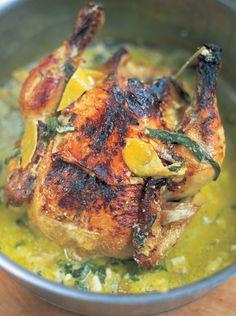 Chicken in Milk - Jamie Oliver
