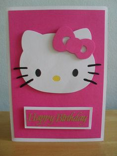 Pink Hello Kitty Card