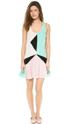 Color block perfection!! Marc by Marc Jacobs Cady Collage Dress | Pretty Little Liars