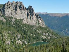 Odessa Lake - 8.3 miles, Bear Lake Trailhead, Rocky Mountain National Park Hiking