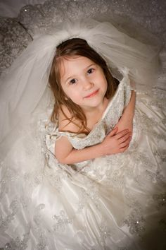 My daughter in my wedding dress