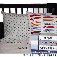 Tommy Hilfiger Print Sheet Sets, $38 Overstock