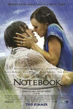 film, ryan gosling, chick flicks, books, kiss, romantic movies, the notebook, birds, friend