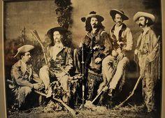 Wild Bill Hickok, Buffalo Bill and Texas Jack.