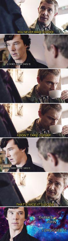 funni, backgrounds, john, sherlock holmes, cup of coffee, fandom, 221b baker, friend, drug