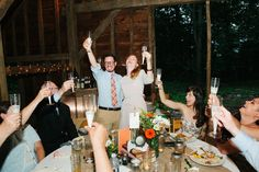 Hudson River Valley BArn Wedding Reception