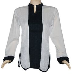 Party Wear Tunic & Top Womens Clothing Blouse-Indian Boho Ladies Casual Wear Kurta Size M « Clothing Impulse