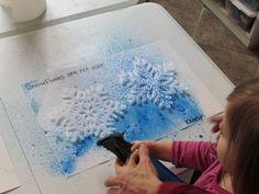 Spray on Snowflakes!  http://www.teachpreschool.org/2011/12/exploring-things-that-are-not-alike-in-preschool/?utm_source=feedburner&utm_medium=email&utm_campaign=Feed%3A+TeachPreschool+%28Teach+Preschool%29