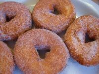 I've been looking for this...apple cider doughnuts. This says FALL all over it.