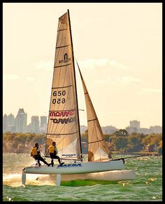 Sailing fast